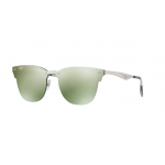 Ray-Ban RB3576N 042/30 BRUSCHED SILVER Dark Green Mirror Silver