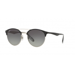 Ray Ban RB3545 900411 TOP BLACK ON SILVER 51 mm