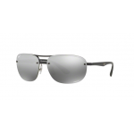 Ray Ban RB4275CH 601S5J MATTE BLACK Grey Mirror Chromance polarized