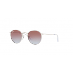Ray Ban RJ9547S 212/I8 Round SILVER Light Blue Gradient Violet
