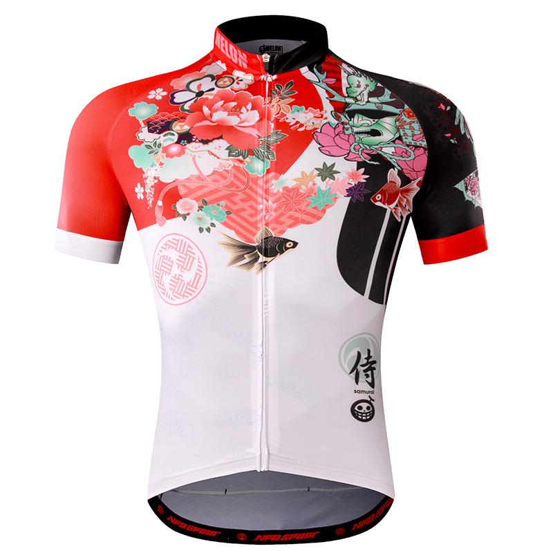 เสื้อปั่นจักรยานแขนสั้นแบรนด์ MELON : ML1701100