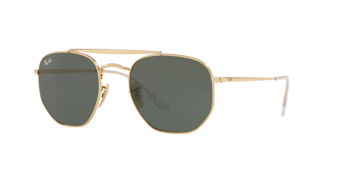 Ray Ban RB3648 001 GOLD Green