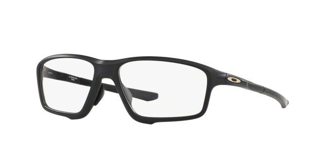 Oakley OX8080-07 ROSSLINK ZERO SATIN BLACK Clear