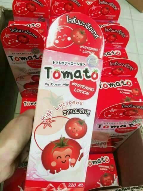 Tomato Whitening Lotion By Ocean Vite โลชั่นมะเขือเทศ