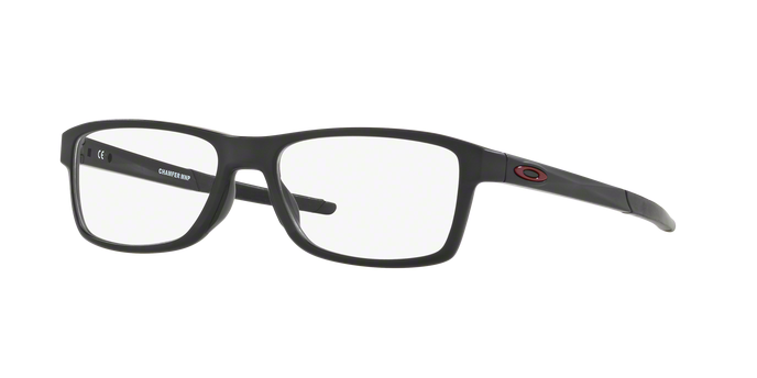 Oakley OX8089-01 CHAMFER MNP SATIN BLACK Clear