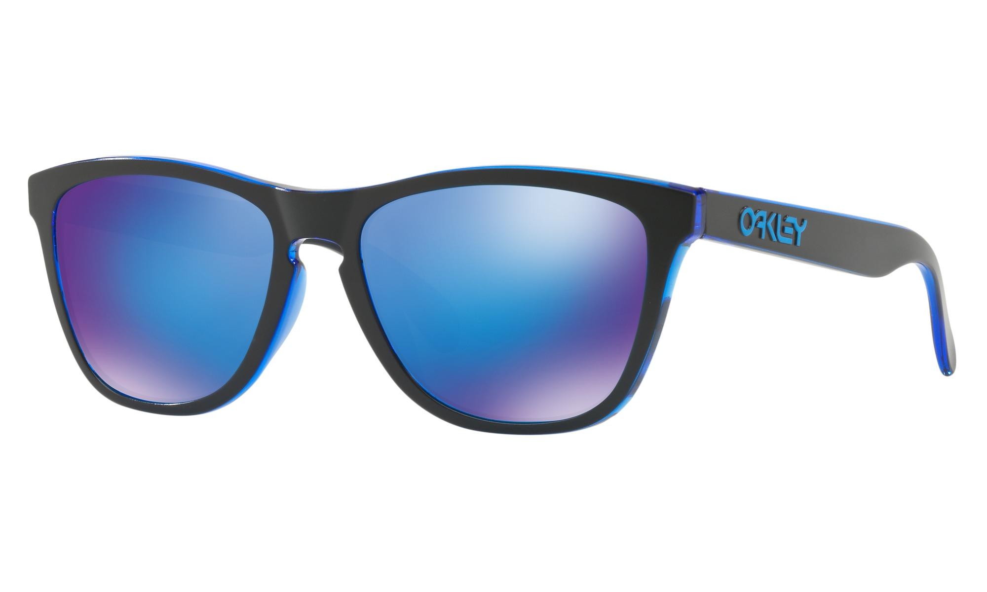 OAKLEY FROGSKINS OO9245-48 ECLIPSE BLUE (Asian fit)