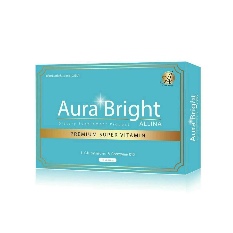 New Aura Bright Premium Super Vitamin Allina (วิตามินเร่งขาว)