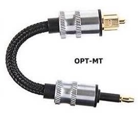 ADL Opt-MT Optical Cable แบบ3.5mm-Toslink ยาว10cm