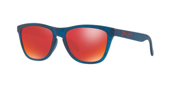 Oakley OO9245-54 Frogskins Matte Blue Woodgrain