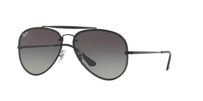 Ray Ban Aviator RB3584N 153/11 DEMI GLOS BLACK Grey Gradient Dark Grey
