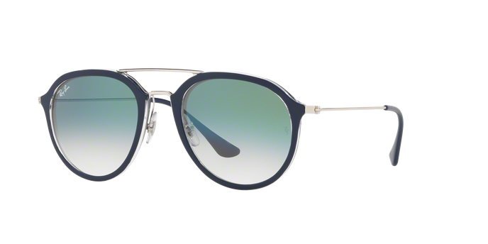 Ray Ban RB4253 60533A BLUE Clear Gradient Green