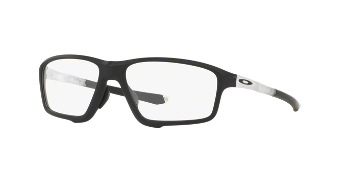 Oakley OX8080-03 CROSSLINK ZERO MATTE BLACK Clear