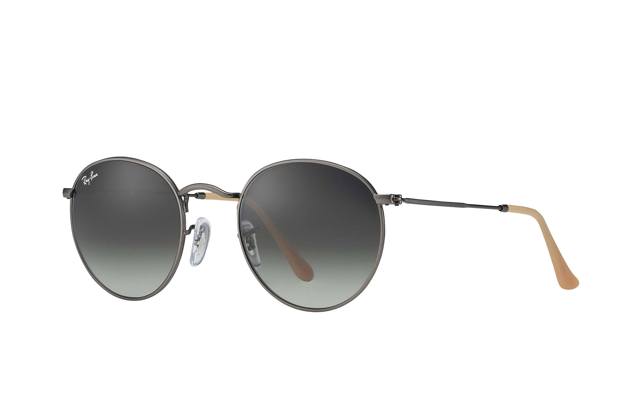 Ray-Ban RB3447 029/71 Round Metal Crystal Grey Gradient