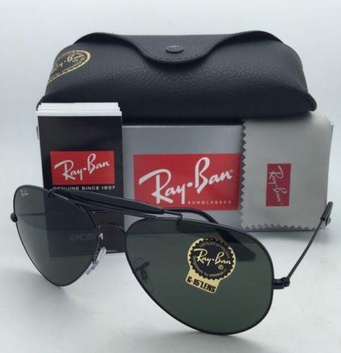 Ray Ban RB3029 L2114 Aviator Outdoorsman II 62 mm