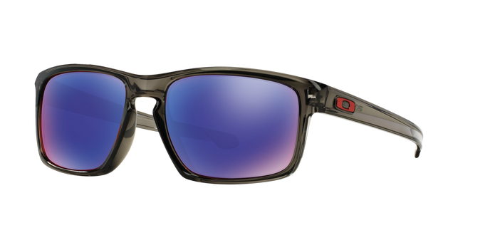Oakley OO9269-06 GREY SMOKE Positive Red Iridium Polarized