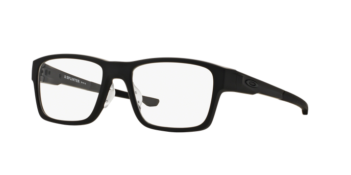 Oakley OX8095-01 SPLINTER SATIN BLACK Clear