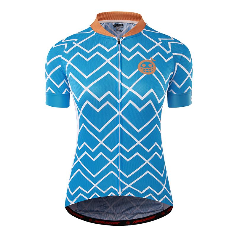 เสื้อปั่นจักรยานแขนสั้นหญิงแบรนด์ MELON : ML1703050