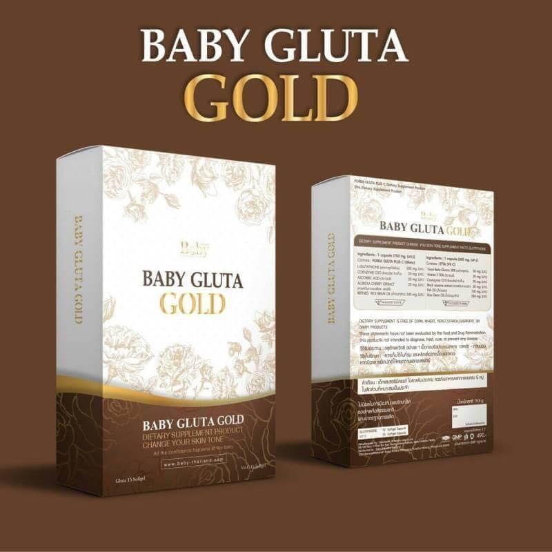 BABY GLUTA GOLD เบบี้กลูต้าโกลด์ (สูตรใหม่)