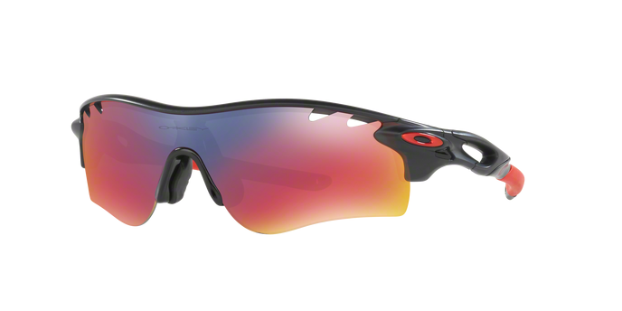 Oakley OO9206-06 RADARLOCK PATH MATTE BLACK INK + Red Iridium