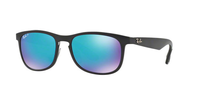 Ray-Ban RB4263 601SA1 MATTE BLACK Blue Flash Polar