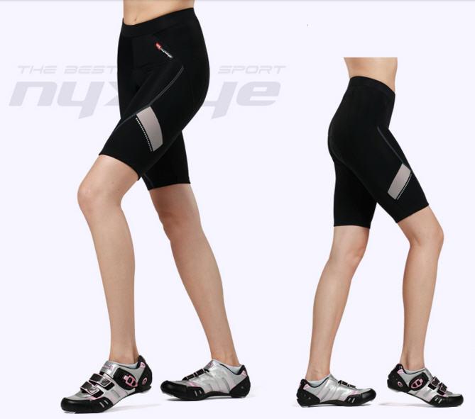 กางเกงปั่นจักรยานขาสั้นผู้หญิง NYXEYE : PS-7032