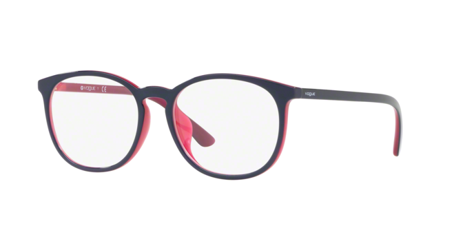 Vogue VO5099D 2454 TOP BLUE/TRANSPARENT PINK Demo Lens