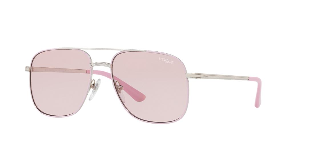 Vogue VO4083S Silver/Pink Special Collection Designed by Gigi Hadid