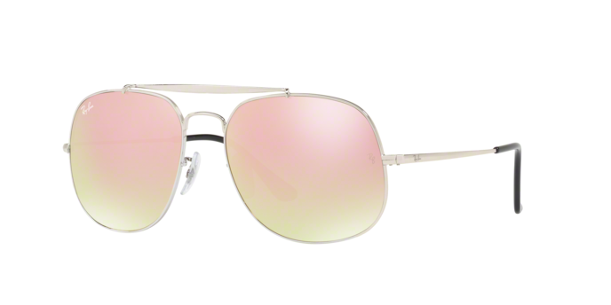Ray Ban RB3561 003/7O SILVER Gradient Brown Mirror Pink