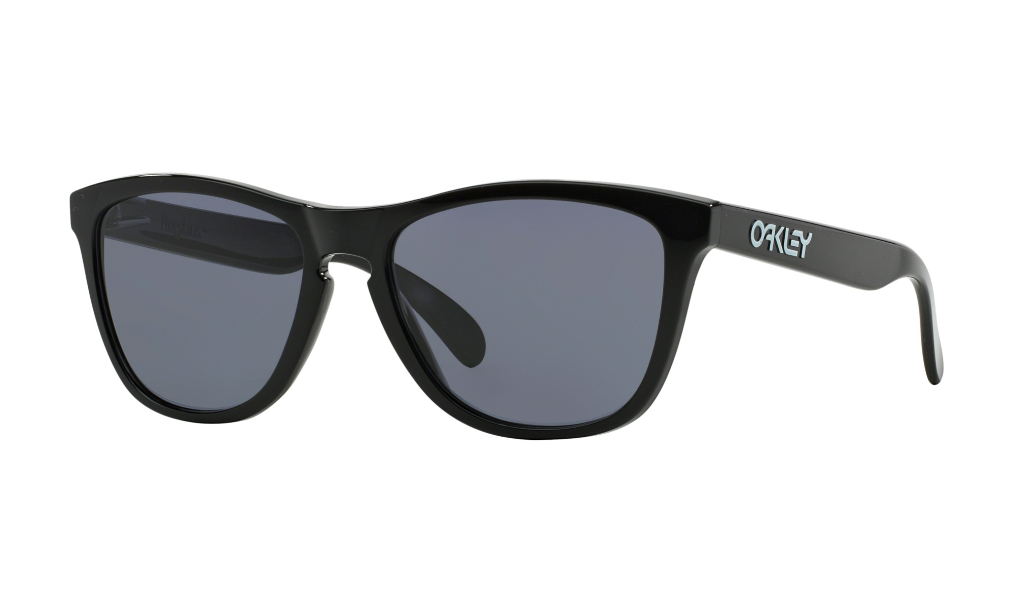 OAKLEY FROGSKINS OO9245-01 Black Grey lens (Asian fit)