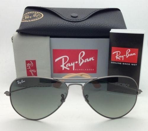 Ray Ban RB3025 029/71 Aviator Crystal Gradient Grey