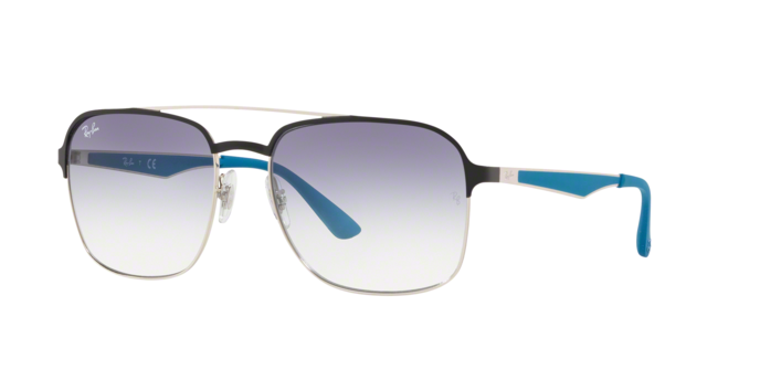 Ray Ban RB3570 910919 Gradient Light Blue