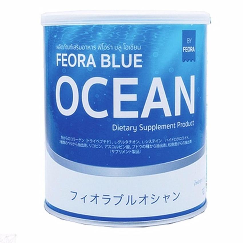 ฟีโอร่า บลูโอเชี่ยน FEORA BLUE OCEAN (รสเบอรี่)
