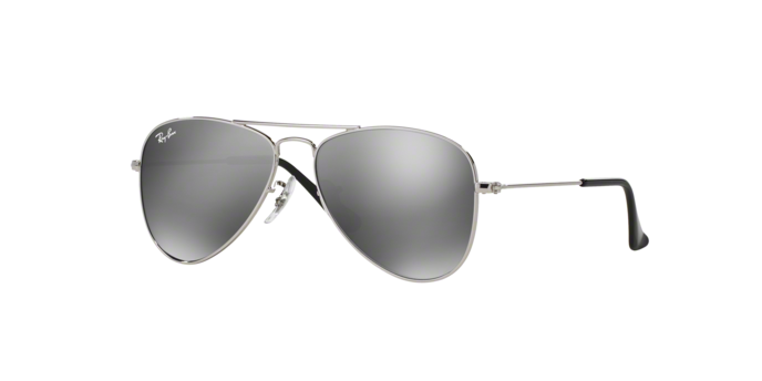 Ray Ban RJ9506S 212/6G SHINY SILVER Grey Silver Mirror