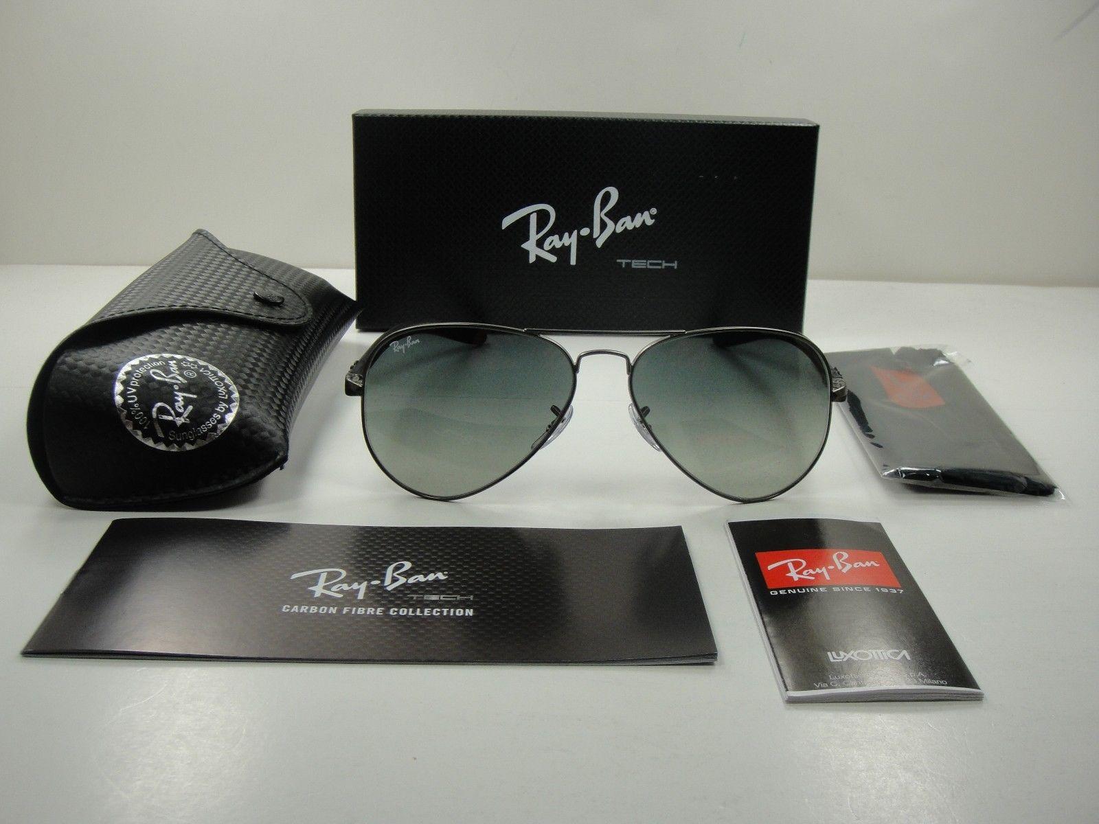 Ray-Ban Tech Carbon Fiber RB8307 029/71 58mm