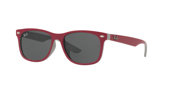 Ray Ban RJ9052SF 177/87 TOP RED FUXIA ON GRAY Grey