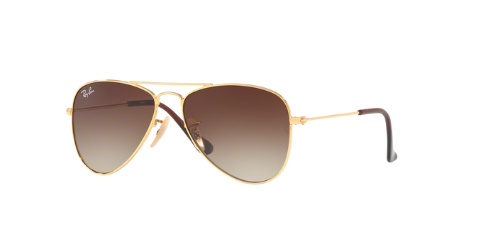 Ray Ban RJ9506S 223/13 GOLD Brown Gradient