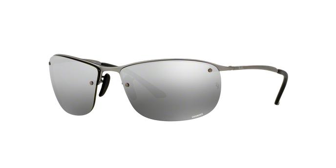 Ray Ban RB3542 029/5J MATTE GUNMETAL Grey Mirror Silver Polarized