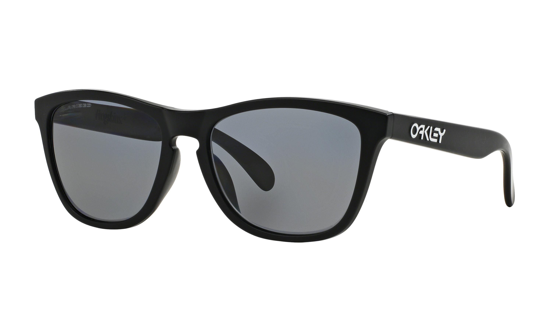 OAKLEY FROGSKINS OO9245-02 black iridium polarized (Asian fit)