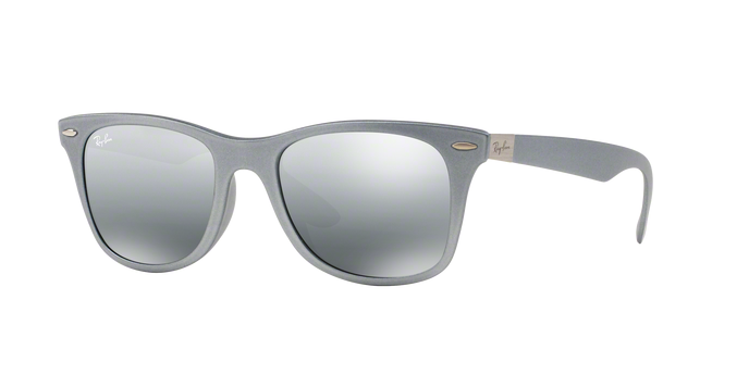 Ray-Ban RB4195F 601788 SILVER Grey Silver Mirror Gradient