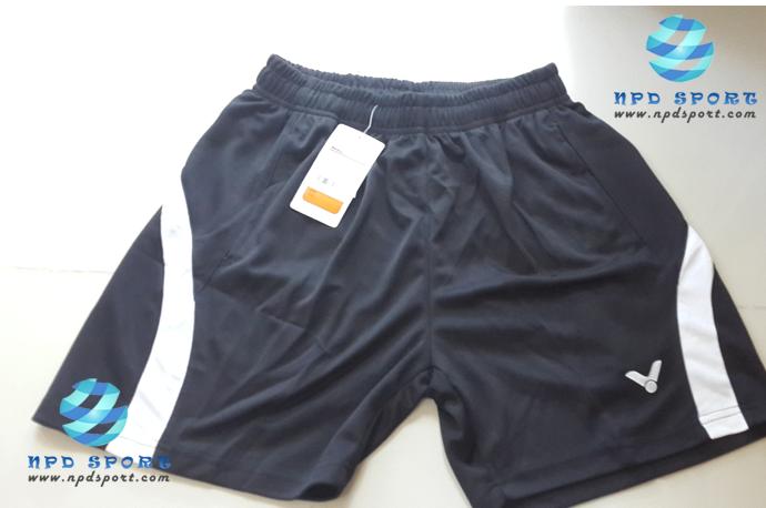 กางเกงแบดมินตัน VICTOR สีดำ : 453
