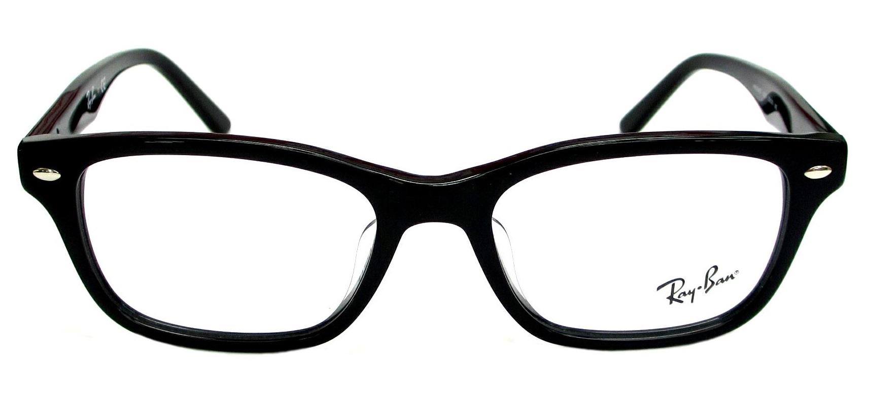 RayBan RX5345D 2000 Black Frame Eyeglasses