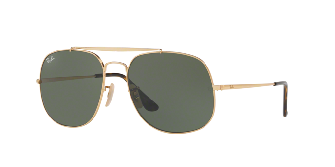 Ray Ban RB3561 001 GOLD Green