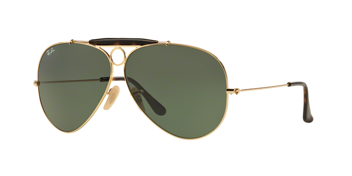 RayBan Shooter RB3138 181 Gold G-15