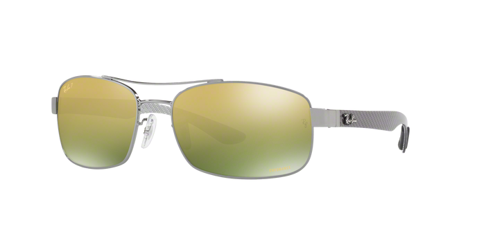 Ray Ban RB8318CH 004/6O Gold Mirror Chromance Polairzed