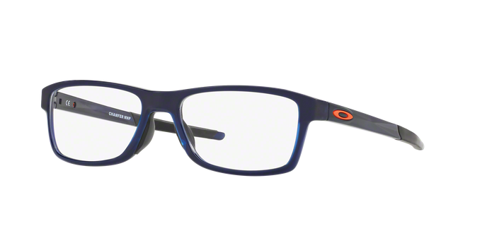 Oakley OX8089-04 CHAMFER MNP POLISHED BLUE ICE Clear
