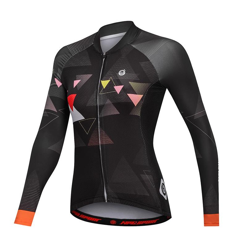 เสื้อปั่นจักรยานแขนยาวผู้หญิงแบรนด์ MELON : ML1702100