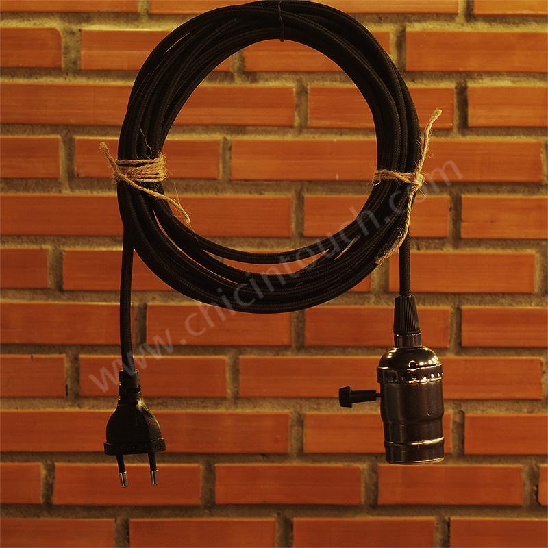 ชุดสายไฟ Cord02Black