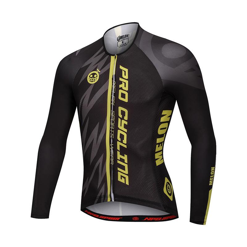 เสื้อปั่นจักรยานแขนยาวแบรนด์ MELON : ML1702080