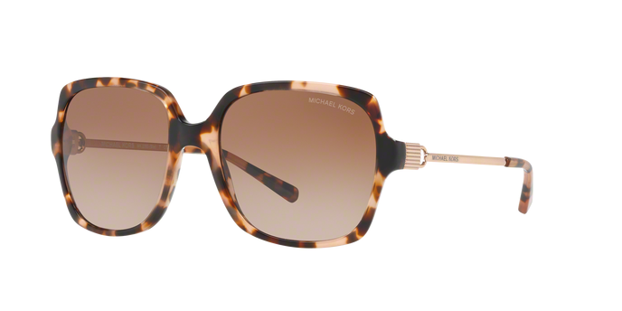 Michael Kors MK2053F 315513 PEACH TORTOISE/ROSE GOLD Brown Gradient