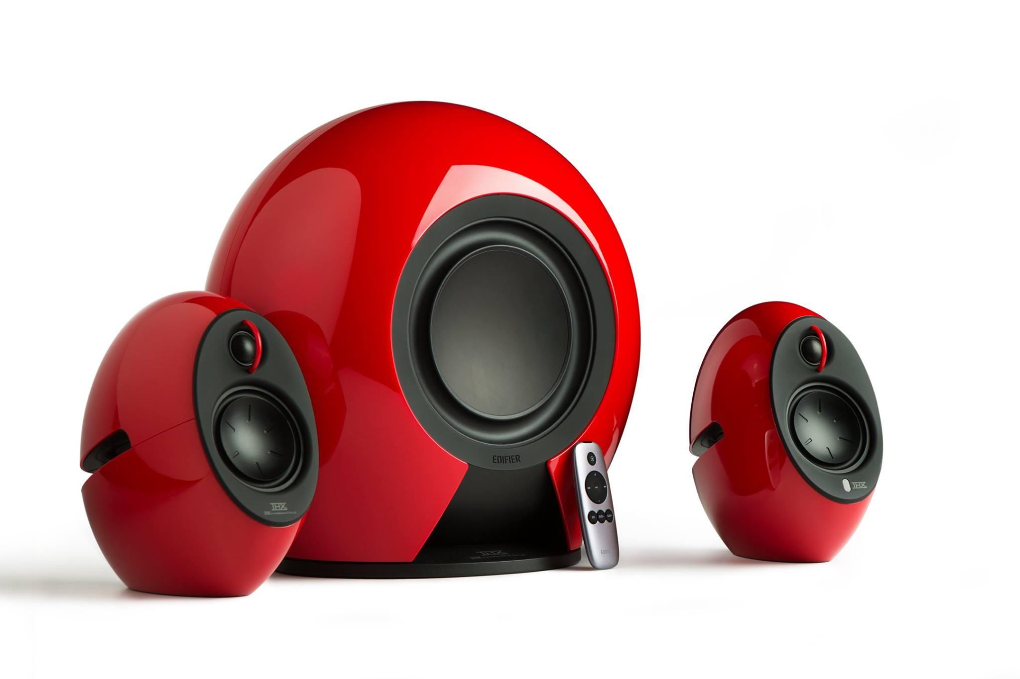 Edifier Luna e235 E2.1 สีแดง